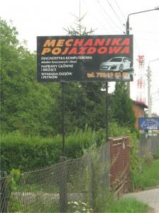 billboard gierałtowice