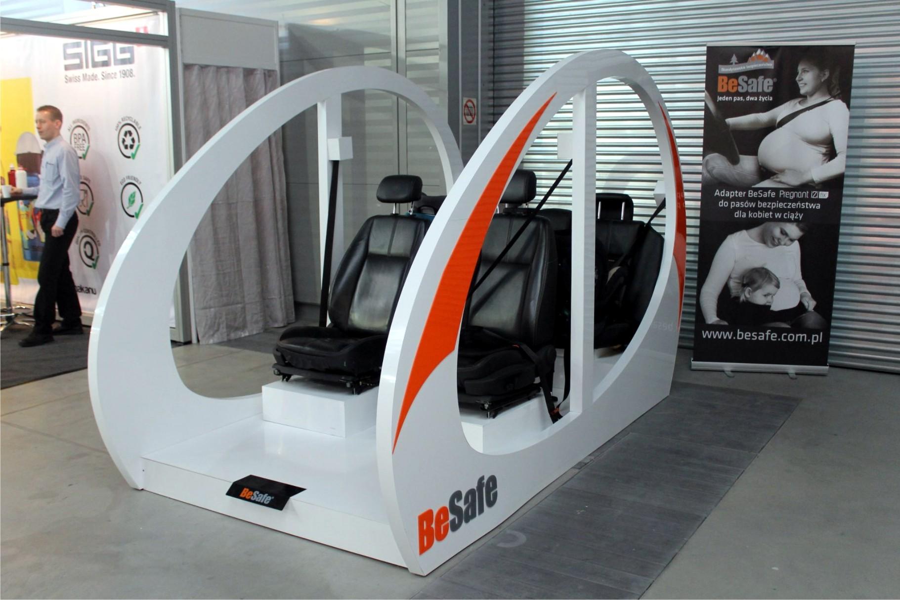 fotel ekspozycyjny