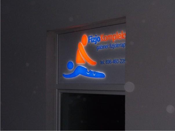 reklama świecąca